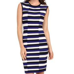 Calvin Klein Sleeveless Knit Sheath Dress